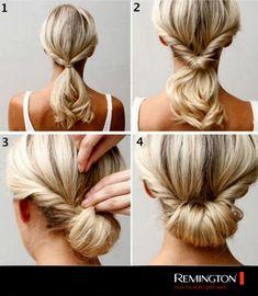 Deslúmbralos a todos con este elegante y sencillo peinado ¡En solo 4 pasos!