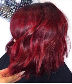 Hairstyles and Beauty: The Internet`s best hairstyles, fashion and makeup pics are here. Shades Of Red Hair, Bright Red Hair, Red Hair Color, Cool Hair Color, Hair Colors, Color Black, Red Hair Inspo, Boys Curly Haircuts, Cheveux Oranges