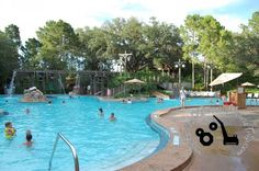 Ol' Man Island Feature Pool at Disney's Port Orleans Riverside Resort - a moderate resort at Disney World.  http://www.buildabettermousetrip.com/disneys-port-orleans-riverside  #PortOrleans #POR  #Disneyworld #WDW