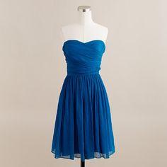 More blue. Love it! If I had to guess I'd say it's cerulean