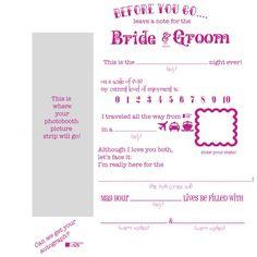 diy wedding guestbook templates | DIY Wedding Project: Guestbook ...