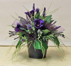Modern Silk Flower Centerpieces   Silk Arrangements and Plants