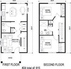 Sidekick Homes - Cube 2....add a master bedroom on main floor