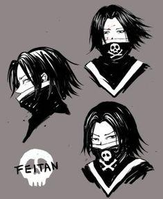 'Feitan face Hunter x Hunter mask' Mask by DigitalAurora Hisoka, Killua, Hunter X Hunter, Hunter Tattoo, Ging Freecss, Hxh Characters, Different Art Styles, Night Aesthetic, Fanart