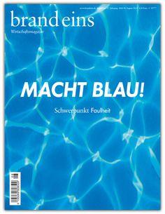 Blick in die brand eins 08/2015 - brand eins online