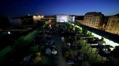 Budapest Rooftop Cinema            Budapest RoofTop Cinema néven indult útjára egy vadítóan új projekt amely kifejezetten a tetőtereken, tetőkerteken, teraszokon történő filmvetítéseket tűzte ki céljául. Egyelőre csak a Facebookon tudjátok követni a tevékenységüket:      ... Budapest, Cinema, Goa, Rooftop, Dolores Park, Facebook, Travel, Ideas, Movies