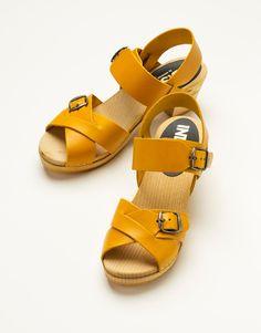 CINDY shoe yellow   Espadrilles   Footwear   Footwear   Accessories   INDISKA Shop Online