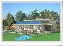 """This eco friendly Passive Solar House is nestled among mature trees and has a lean, """"green"""" design that still puts style and comfort in the . Landscaping Las Vegas, Landscaping Near Me, Passive Solar Homes, Passive House, Passive Design, Solar Panel Cost, House Foundation, Home On The Range, Solar House"""