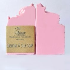 Jasmine & Silk Skinny Soap Bars by Cleanse With Benefits.