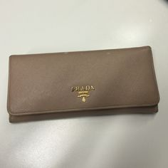 d17534a5724a ❌NOT4SALE❌ Prada Blush Saffiano Continental Wallet •Not currently for sale  •Offers will be considered •Use offer button only Prada Blush Saffiano ...