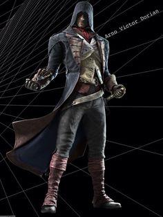 Arno Dorian, Assassins Creed Unity, I Still Love You, Assassin's Creed, Elsa, Addiction, Leather Jacket, Games, Black