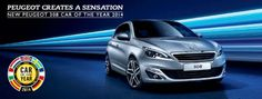 New Peugeot 308 - voted European Car of the Year 2014.