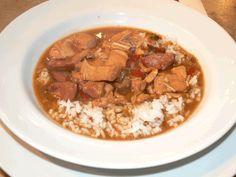 Chicken and Sausage Gumbo; one of my top ten comfort foods