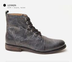 Grey Boot - Lennon