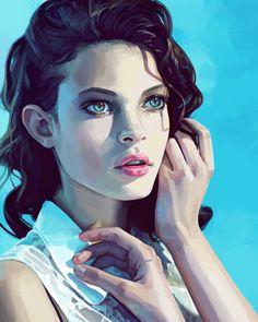 ArtStation - Portrait Study, Alice Dufour