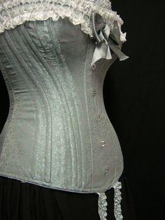 design your own bespoke victorian era corset 19th century