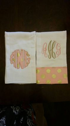 Cute pink and gold burp cloth set https://www.etsy.com/listing/245297928/pink-and-gold-burp-cloth-set-pink-and