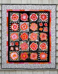 Explore opal c's photos on Flickr. opal c has uploaded 2252 photos to Flickr. Rag Quilt, Scrappy Quilts, Mini Quilts, Quilt Art, Puffy Quilt, Sewing Circles, Crazy Quilt Blocks, Flower Quilts, Sewing Appliques