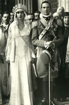 King Umberto II and Queen Marie José of Italy