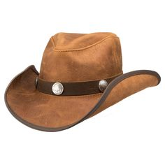 0edf28a36c1a98 Cyclone-Buffalo Band (Cobblestone)- American Hat Makers Leather Cowboy Hats,  Country