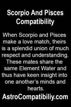 When Scorpio and Pisces make a love match.... | AstroCompatibility.com