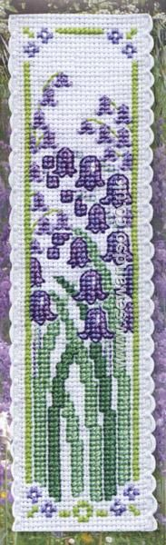 Buy Bluebells Bookmark Cross Stitch Kit Online at www.sewandso.co.uk