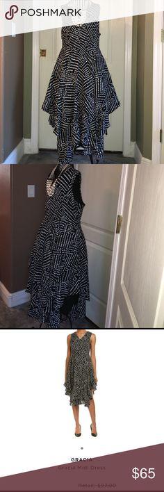 Gracia Dot Print Ruffle Hem Dress See pic 4 for descripción. PRICE FIRM!!!!!! Gracia Dresses Midi