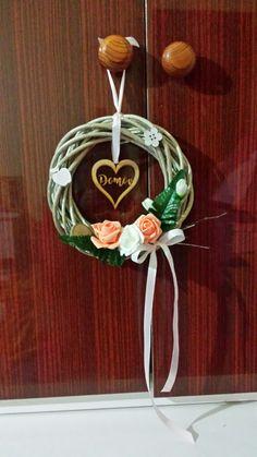 My work-veniec (home decorations) Decorations, Wreaths, Handmade, Diy, Home Decor, Homemade Home Decor, Hand Made, Door Wreaths, Bricolage
