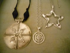Beautiful Collection of 90's Pendant Necklaces  3 by RosieandZoe, $24.00