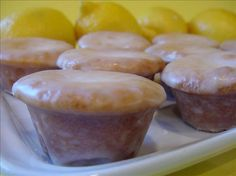 Lemon Blossoms (Paula Deen) from Food.com:   								These mini cupcakes are packed with lemon flavor.  A Paula Deen recipe.