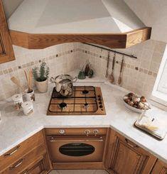 Kitchen Room Design, Kitchen Cabinet Design, Modern Kitchen Design, Kitchen Layout, Home Decor Kitchen, Interior Design Kitchen, New Kitchen, Home Kitchens, Cottage Kitchens