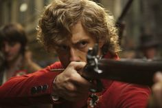 Enjolras (Aaron Tveit), Les Miserables movie