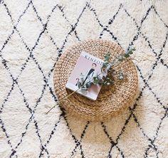 Vintage Beni Ourain tapis  Le Caleb  tapis par LoomAndField sur Etsy
