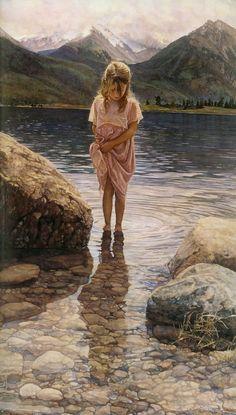 Emlékezés Steve Hanks, a Master of Akvarell | Tutt'Art @ | Pittura * scultura * Poesia * Musica |