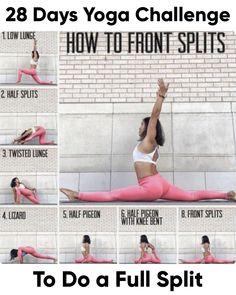 28 day yoga challenge for a full split Yoga & Fitness # . - 28 day yoga challenge for a complete yoga & fitness split - Yoga Fitness, Fitness Workouts, Cheer Workouts, Fitness Motivation, Enjoy Fitness, Physical Fitness, Squats Fitness, Song Workouts, Morning Workouts