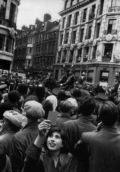 Coronation day of Queen Elisabeth II, London, 2 June 1953