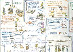 Instituciones de España de Ramón Llorens y Concepció Poch; dibujante, Pilarín Bayés. Publicado por Edibook, 1990.