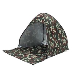 1set Full Automatic Tent beach tent festival shelter childrens UPF 40 sun screen wind break fishing garden quick open tent
