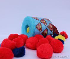Superhero Pool Noodle Pom Pom Shooter