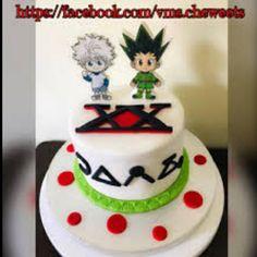 Cute Birthday Cakes, 12th Birthday, Sweet 16 Birthday, Birthday Ideas, Bannock Recipe, Anime Cake, Personalized Cakes, Hunter X Hunter, Different Recipes