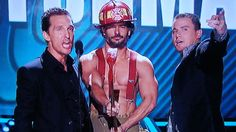 Dear Joe Manganiello, please throw away all of your shirts, immediately.  You don't need them anymore.  I promise.