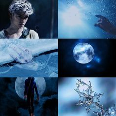 Newt as Jack Frost