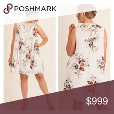 """(Plus) White floral dress Crochet/ floral dress. 65% cotton/ 35% polyester. Fully lined. This has a little bit of stretch. These are very true to size- I am a 2x/16 and the 2x fit me perfectly.  XL: L 36"""" B 42"""" 1x: L 37"""" B 44"""" 2x: L 38"""" B 46"""" ⭐️Brand new with tags.  🚫NO TRADES 💲Price is firm unless bundled 💰Ask about bundle discounts Availability: XL•2x•2x • 3•2•0 Dresses"""