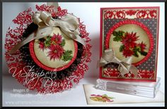 Cracked Glass Ornament and Card by lisa foster - Cards and Paper Crafts at Splitcoaststampers