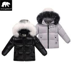 673d487ce 2017 winter down jacket parka for girls boys coats , 90% down jackets  children's clothing for snow wear kids outerwear & coats