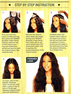 How to apply a lace closure
