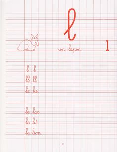 French Cursive, Christmas Color By Number, French Education, Activity Sheets, Teaching French, Baby Games, Grade 3, Montessori, Exercise