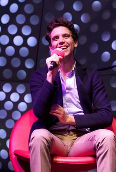 Mika on Italian radio RDS - Nov 15 2012