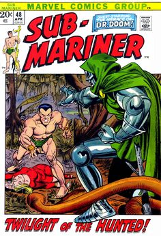 Sub-Mariner #48 cover by Gil Kane