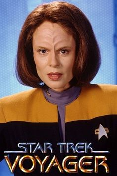 B'elan-lan is tough and soft at the same time. Half angry klingon half unsure sweet human she makes one interesting character